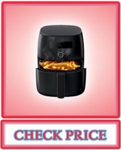 Philips TurboStar Technology Airfryer with Cookbook, Digital Interface, 1.8lb 2.75qt- HD9641 99