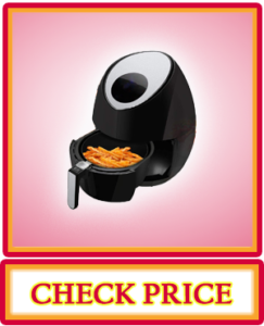 NutriChef Electric Hot Air Fryer Oven w/ Digital Display