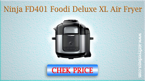 Ninja FD401 Foodi 8-qt. 9-in-1 Deluxe XL Cooker & Air Fryer